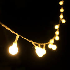 New Year Lighting Decorations by 4m 40 Led Ball Styled String Lights Battery Operated For Christmas