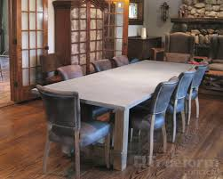 diy concrete dining table beautiful dining table arcadian trueform decor at concrete room