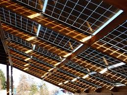 Barn Roof by Silicon Energy Cascade Series Solar Pv Integrated Barn Roof