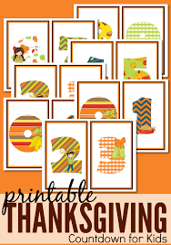 Thanksgiving Printable Free Printable Thanksgiving Countdown For From Abcs To Acts