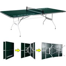 outdoor ping pong table walmart dunlop easy fold outdoor table tennis table walmart com