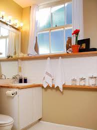 Ideas For Bathroom Shelves Small Bathroom Storage Solutions Diy