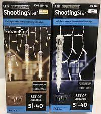 led shooting star lights shooting star christmas lights ebay