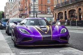 photo collection koenigsegg agera r purple