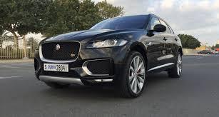 jaguar f pace blacked out we review jaguar f pace 2016 in dubai
