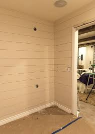 Installing Shiplap Diy Shiplap Video Tutorial The Easy And Inexpensive Way