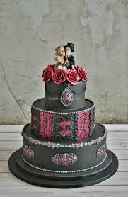 Halloween Cakes Designs by 22 Best Wedding Cakes Images On Pinterest Gothic Wedding Cake