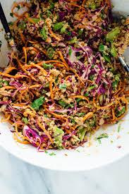 comment cuisiner du quinoa crunchy peanut quinoa salad cookie and kate