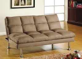 brown microfiber sofa bed light brown microfiber sofa bed futon chrome legs