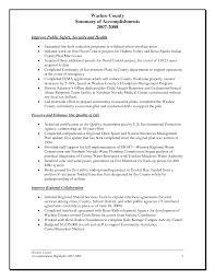 Accomplishments Resume Sample by Sample Accomplishment Resume Template Resume Sample Information