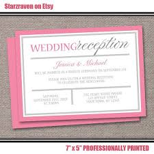 reception invitation wording best collection of wedding reception invitation wording to inspire