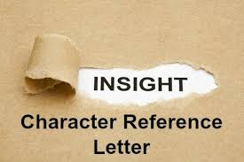 Sample Character Reference In Resume Sample Character Reference Letter