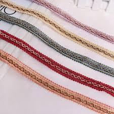 wide lace ribbon aliexpress buy 12m lot 1 5cm wide lace ribbon curtain l