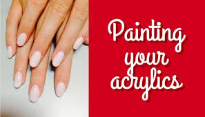 should i put a top coat on painted cabinets can you paint acrylic nails best acrylic nails