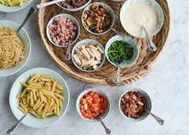 family supper idea a diy pasta bar pictures pinterest ideas