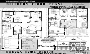 bedroom house plans floor federation style 90aa81acb5de9777 plan