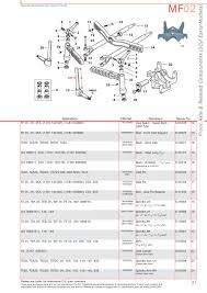 massey ferguson front axle page 41 sparex parts lists