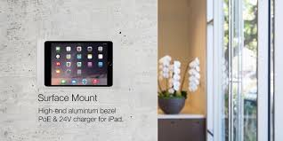 Wall Mount Charging Station by Iport Hold Charge Protect Integrate Ipad