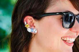 ear cuff images diy ear cuff hello glow
