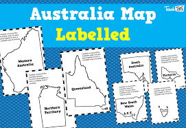 Austrailia Map Maps Printable Maps And Graphic Organisers Teacher Resources