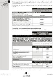 matmut si e habitation contrat d assurance multigaranties propriétaire non
