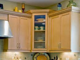 Wall Kitchen Cabinets With Glass Doors 13 Corner Kitchen Cabinet Ideas To Optimize Your Kitchen Space