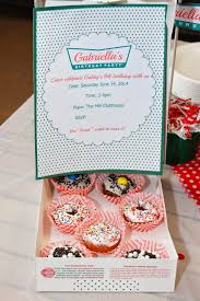 the sweet donut birthday party decorations