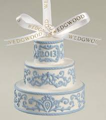 wedgwood our together ornament 2013 our cake
