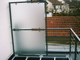 balkon sichtschutz aus glas bildergalerie