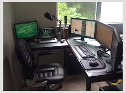 gaming office setup sunny day at the home office best office set up for me yet