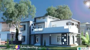 Home Design For 1800 Sq Ft 1800 Sq Ft 4 Bhk Attractive Indian Home Design By Archi Art