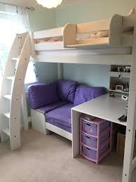 High Sleeper With Futon Scallywags White High Sleeper Bed Integral Desk And Futon Chair
