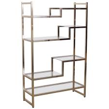 Etageres Garage Pas Cher by Etagere Metal Garage Brass And Gold Plated Bookshelf Or Etagere