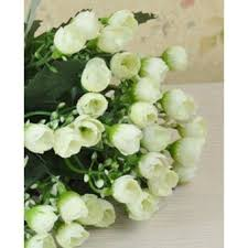 Fake Flowers For Wedding 1 Bouquet 36 Heads Mini Roses Artificial Flowers Wedding Home
