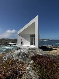iceberg inspired coastal cottage design looks surreal