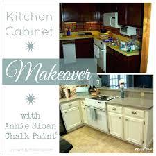 Chalk Paint On Kitchen Cabinets Kitchen Cabinet Paints Kitchen Cabinet Makeover With Chalk Paint