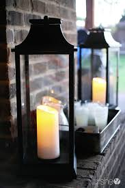 qvc luminara wickless candle lanterns one day sale how does she