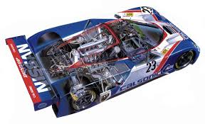 nissan race car nissan r89c race car cutaway cutaways pinterest cutaway