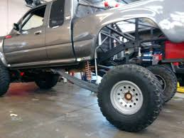 prerunner truck suspension 1993 toyota extra cab 4x4 off road race truck prerunner baja