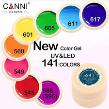 what is the hottest color canni painting gel 5ml led l 141 pure solid colors hottest gel