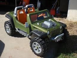 power wheels jeep hurricane green modified power wheels rc hurricane project the boys pinterest