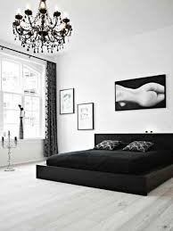 chambre noir et blanc design chambre a coucher moderne noir et blanc meilleur idées de