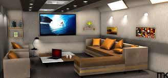 adorable the living room theater decor on home decorating ideas