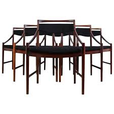 set of six rosewood dining chairs by mcintosh circa 1950 at 1stdibs