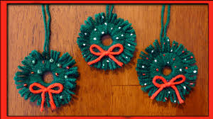 Home Made Christmas Decor Easy Homemade Christmas Ornaments