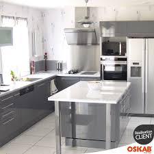et sa cuisine alain b a choisi oskab découvrez sa cuisine avec ilot central