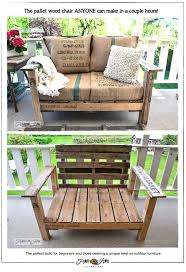 Plans For Outdoor Rocking Chair by Pallet Wood Patio Chair Build Via Funky Junk Interiors Faux Wood