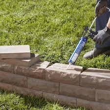 landscape retaining wall blocks how to build a stackable block