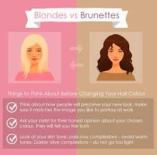 blonde or brunette how to choose the colour that best suits you