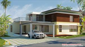 home render modern contemporary elevations kerala design and floor